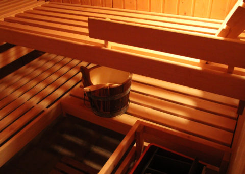 Entspannen Sie in unserer Sauna